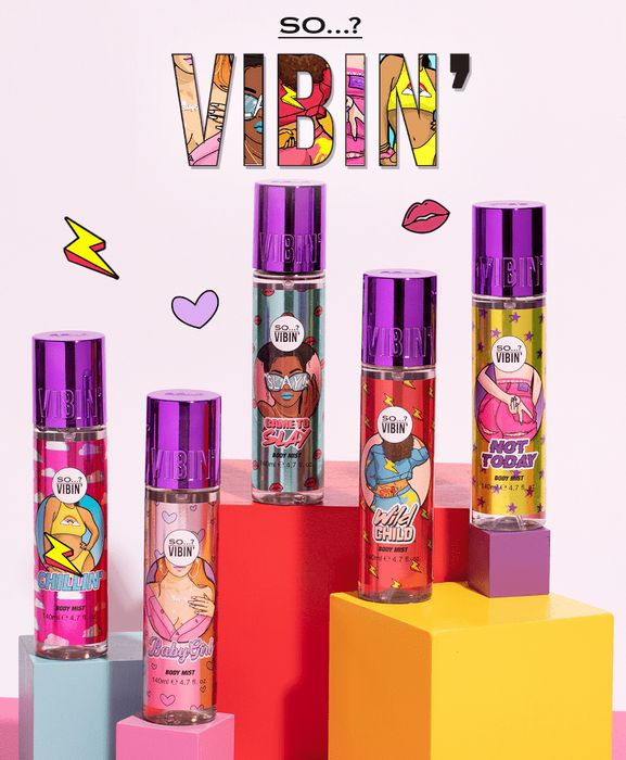 Better than Half Price on So? Vibin Body Mists