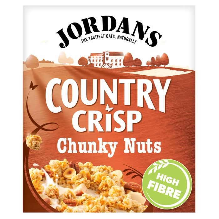 Jordans Country Crisp with Chunky Nuts Cereal plus other flavours