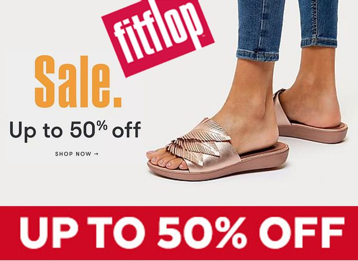 Fitflop SALE - up to 50% off Shoes & Sandals + EXTRA 10% OFF CODE