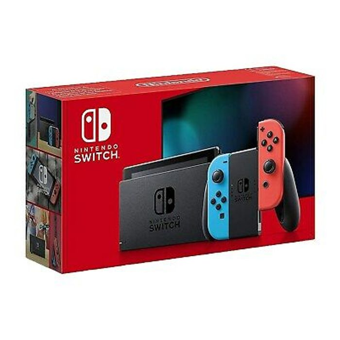 Nintendo Switch 1.1 Neon Red/Blue Console - Only £233.72!