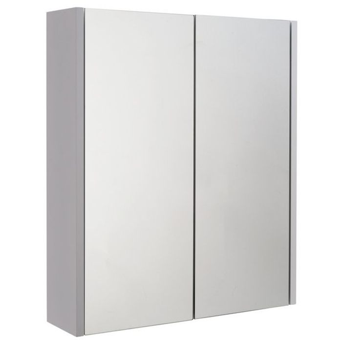 Argos Home 2 Door Mirrored Bathroom Cabinet - White Our Lowest Price Ever