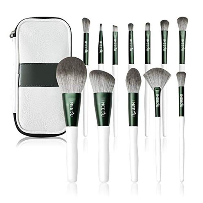 12pcs Make up Brush Set + Case