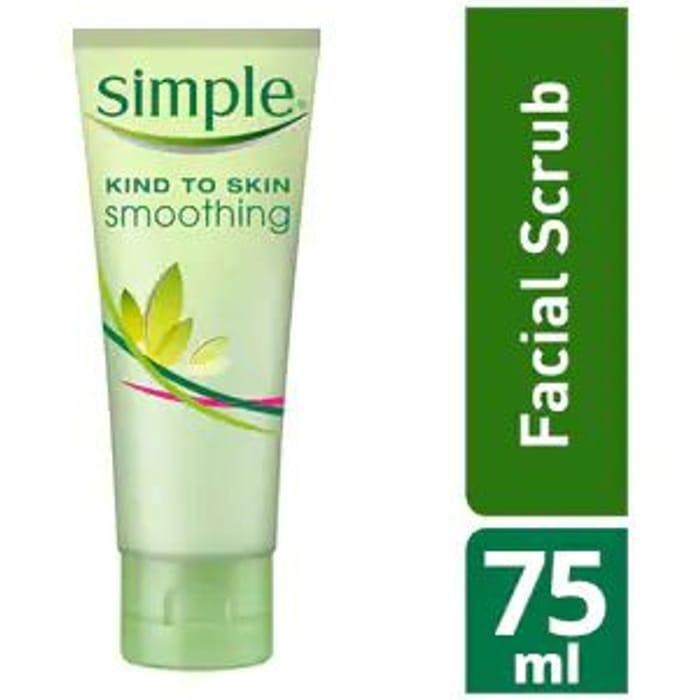 Buy 1 Get 1 Free Simple Kind to Skin Smoothing Facial Scrub