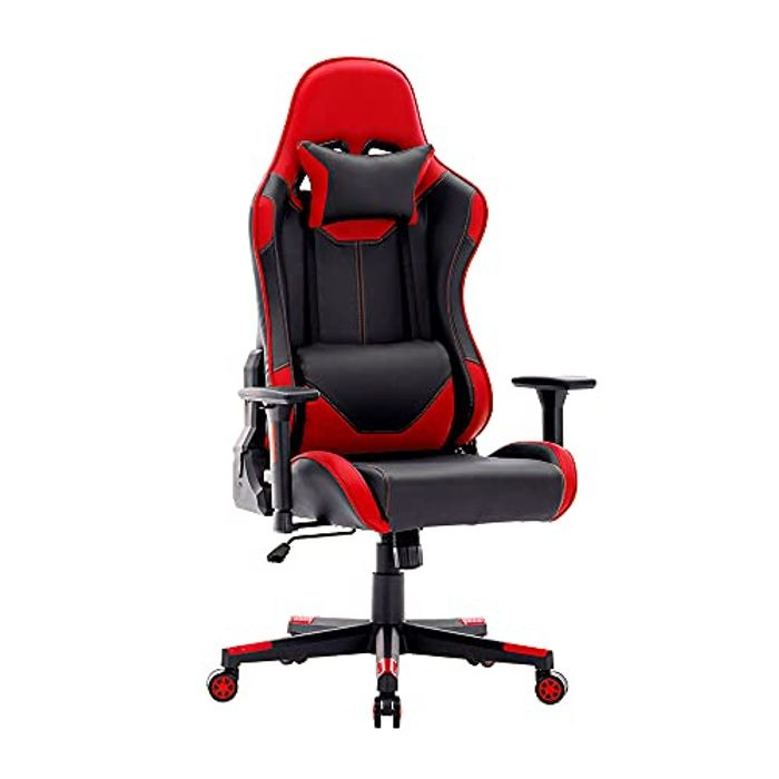 SHA XiaZhi Gaming Chair Racing Style PU Leather High Back - Only £59.99!