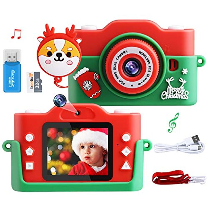 8X Digital Zoom Child Digital 1080P 40MP 2.0 Inch Camera - Only £10.99!