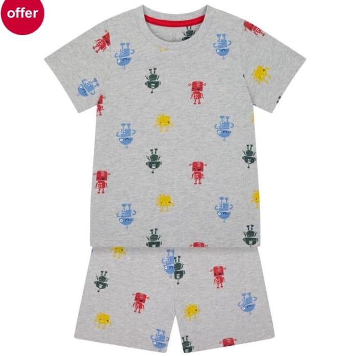 Shortie Robot Pyjamas