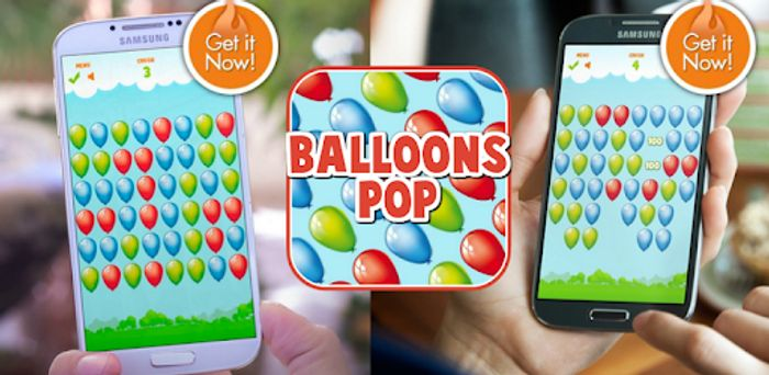 Balloons Pop Pro - Usually £1.79