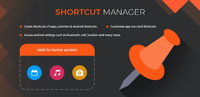 Shortcut Manager Pro - Shortcuts on Home Screen - Usually £0.59
