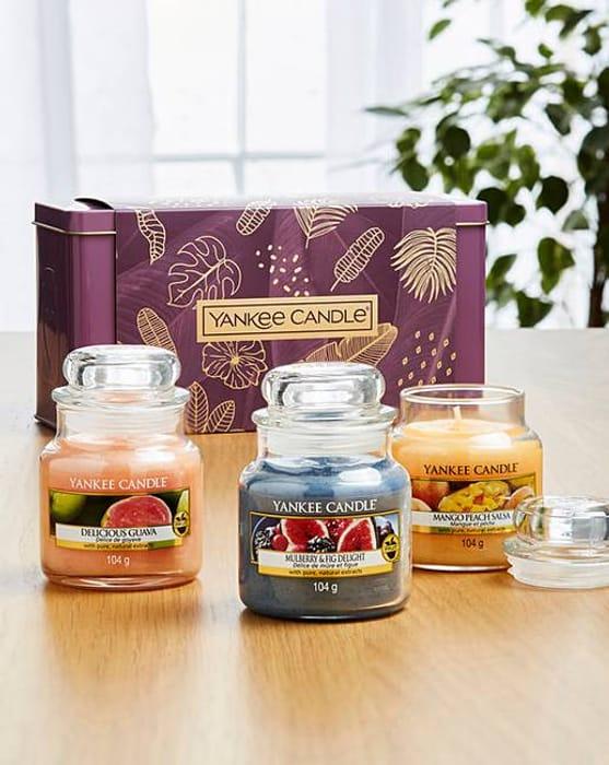 Yankee Candle 3 Jar Gift Set