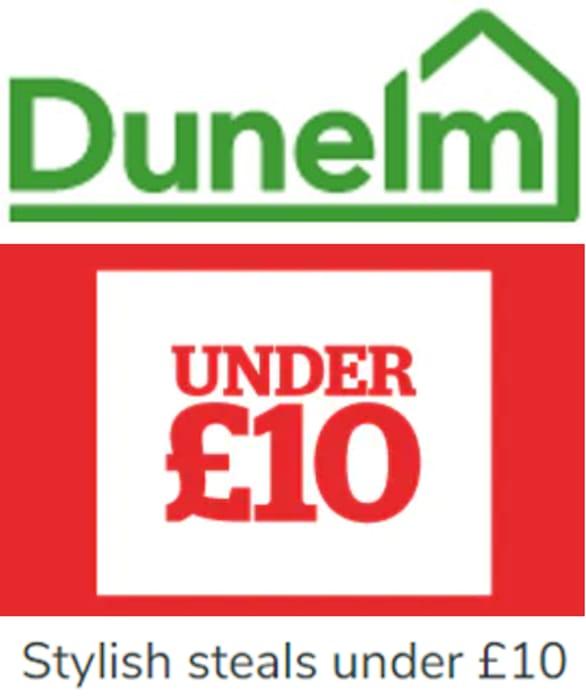 DUNELM - Stylish Steals under £10