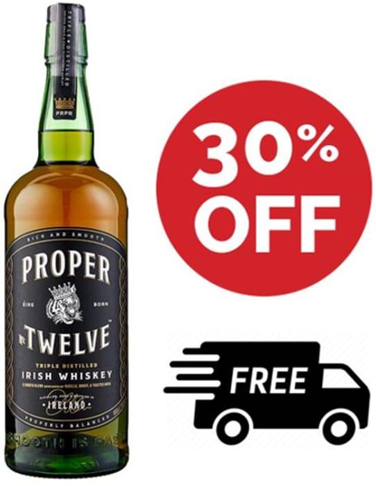 Proper No. Twelve (12) Irish Whiskey - 1 LITRE