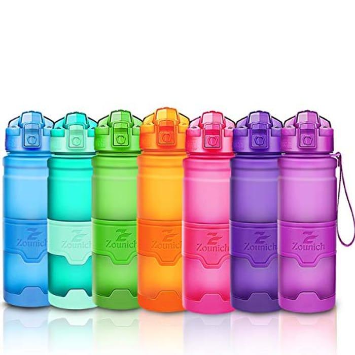 Sports Water Bottle Leak Proof 1L/700ml/500ml/400ml BPA Free