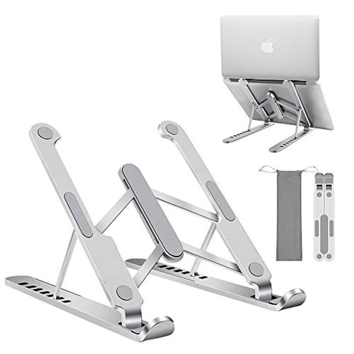 JL Comfurni Laptop Stand Foldable Holder - Only £2.99!