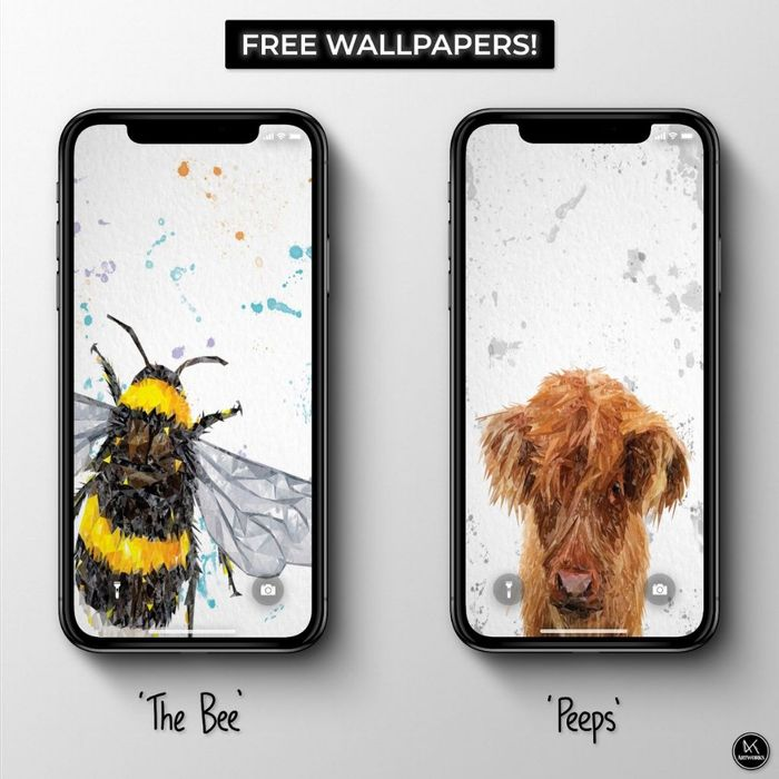 2 Free Wildlife Phone Wallpapers!