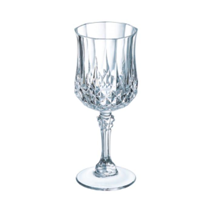 Cristal D'Arques Longchamp Wine Glass Set of 6 ( £3 Each )