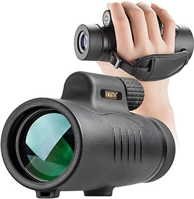 Waterproof Full Multi-Coated Lens HD Monocular Telescope - Only £21.49!