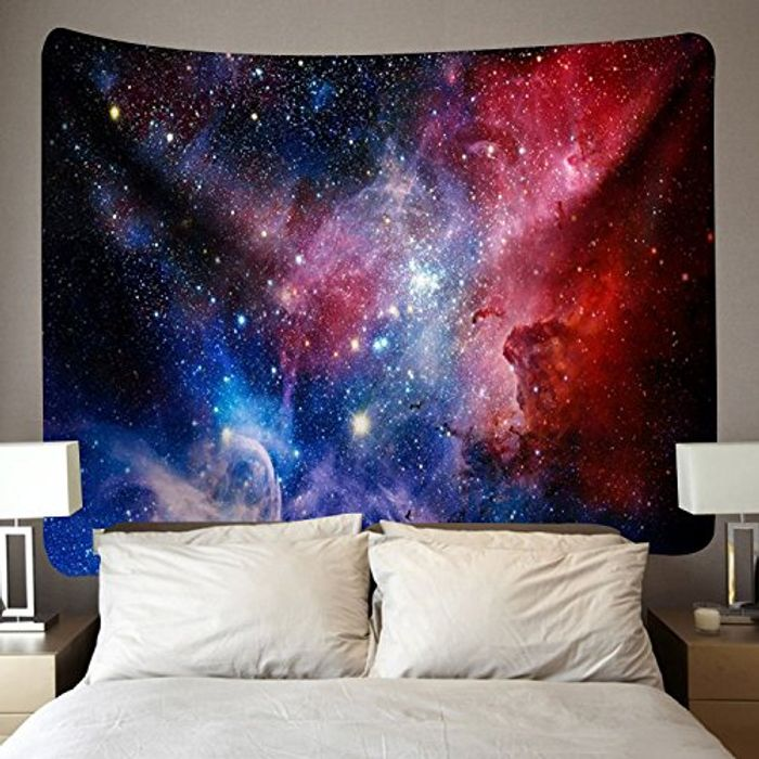 """BLEUM CADE Outer Space Tapestry (51.2"""" X 59.1"""")"""