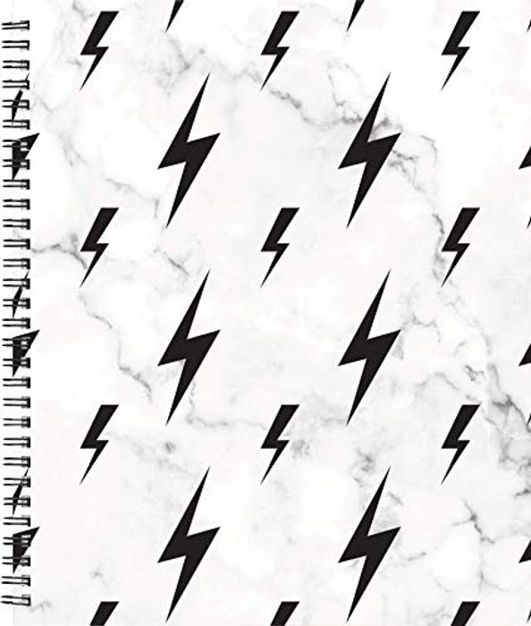 Pack of 2 Lauren & Johnny Customizable Wirebound Notebooks + Sticker Sheets