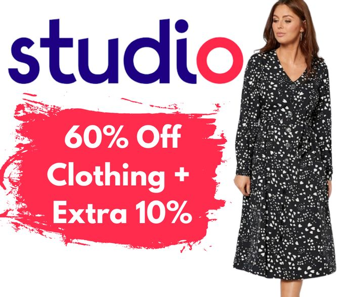 Studio Up To 60% Off Fashion Sale + Extra 10% Code