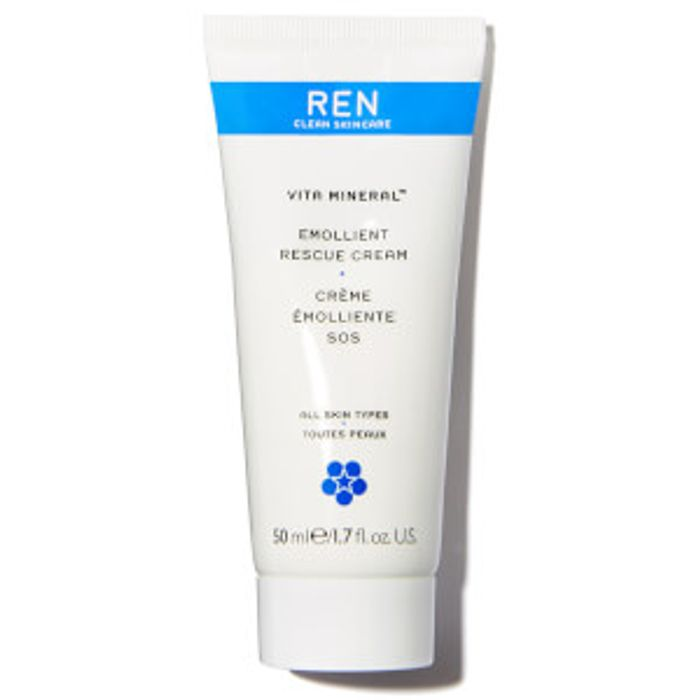 REN Clean Skincare Vita Mineral Emollient Rescue Cream 50ml