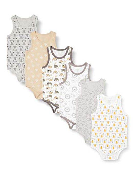 Care Unisex Baby Sleeveless Cotton Bodysuit - Only £4.83!
