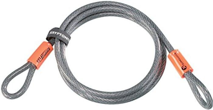 Kryptonite Loop Cable Krypto Flex 213cmx10mm, Grey