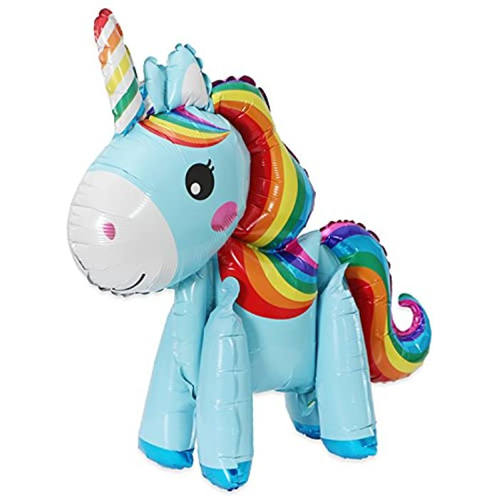 3D Unicorn Balloons for Birthday Party,