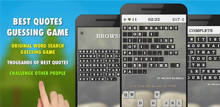 Best Quotes Guessing Game Pro - Usually £1.79
