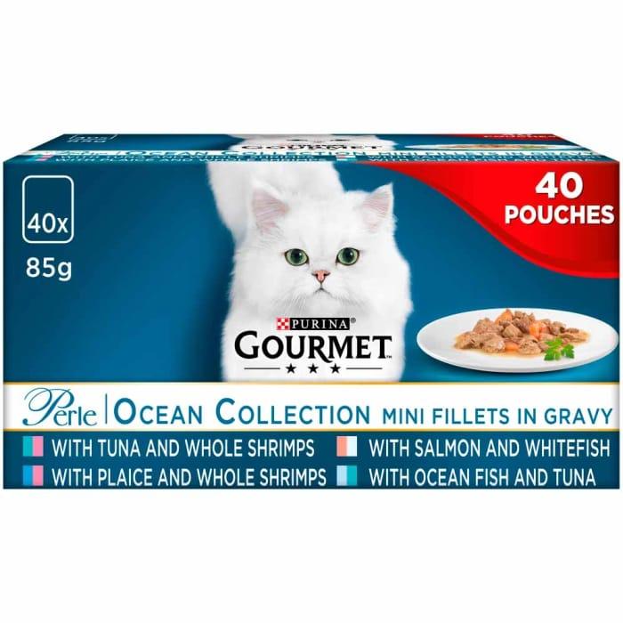 Best Price! Gourmet Perle Cat Food Ocean Collection 40 X 85g