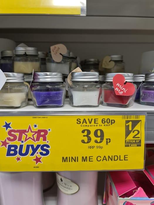 Mini Me Candles
