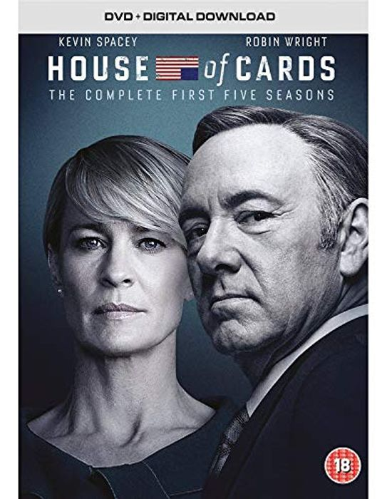 Cheap House of Cards - Season 1-5 - Only £5.74!