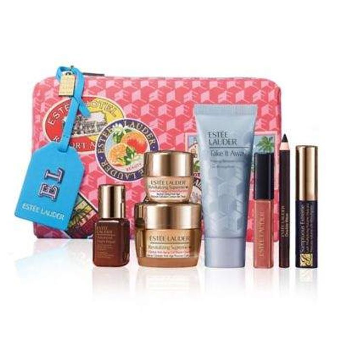 FREE 7 Piece Set worth £94 With Any Este Lauder Foundation From £28.90 with Code