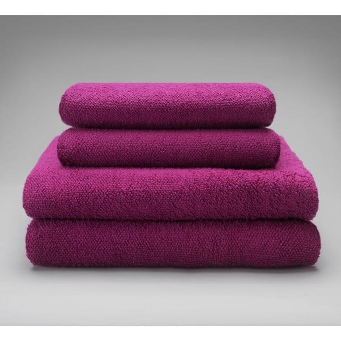 Argos Home 4 Piece Towel Bale - Berry