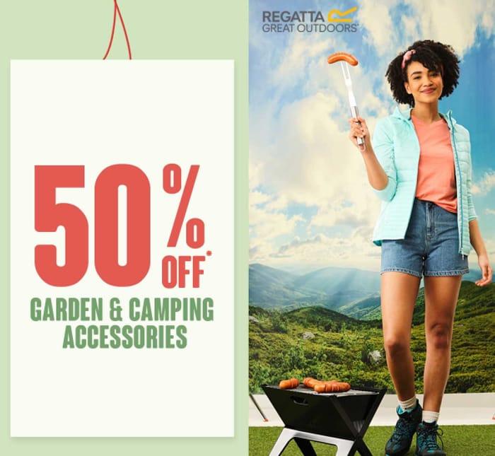 Matalan - 50% Off Garden, Camping & Pet Accessories + Free C&C