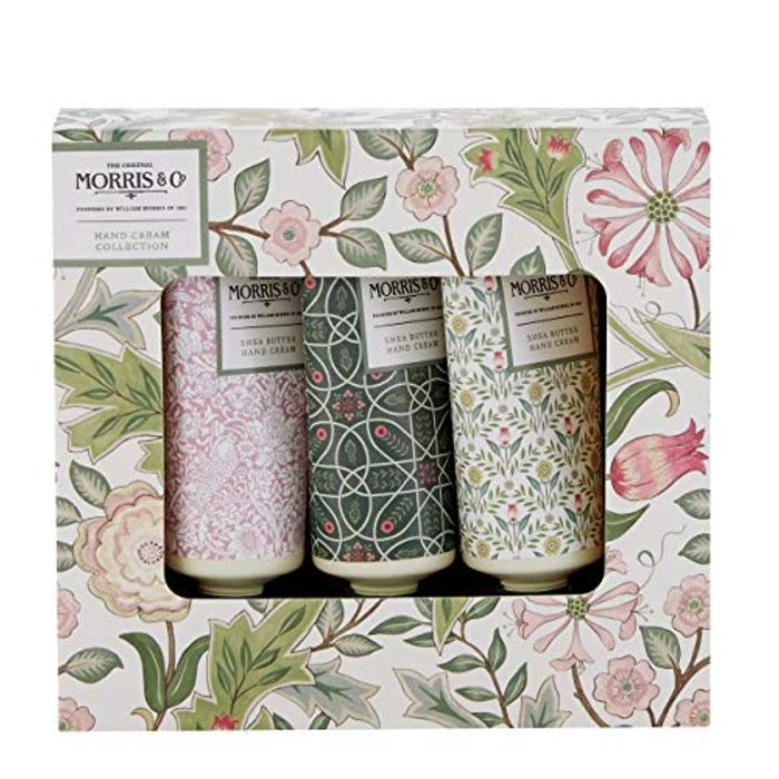 Morris & Co. Beauty Jasmine and Green Tea Hand Cream Collection 3 X 30ml