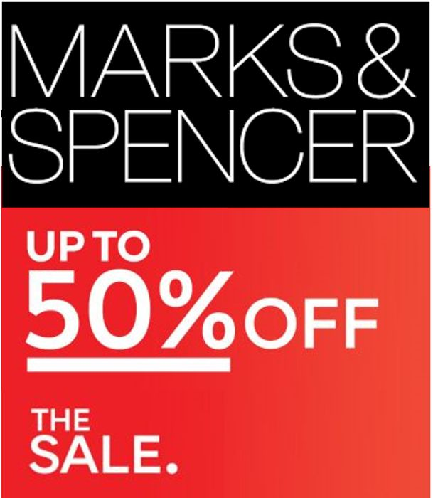 M&S SALE - up to 50% OFF