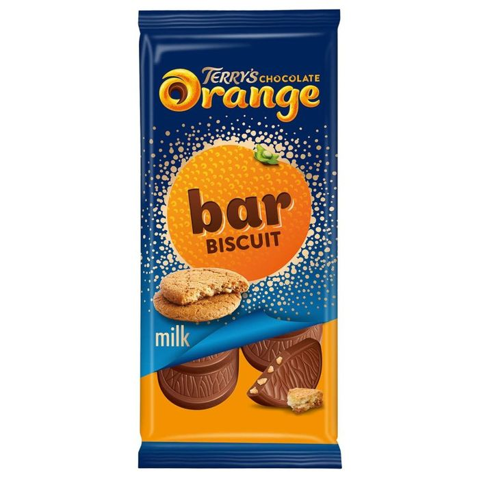 Terry's Chocolate Orange Bar Biscuit or Cranberry 90g