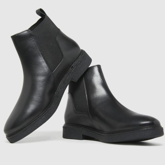 Black Charlize Chelsea Boots