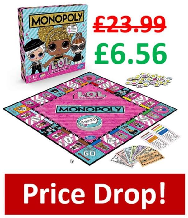 MEGA DEAL! MONOPOLY L.O.L. Surprise Edition
