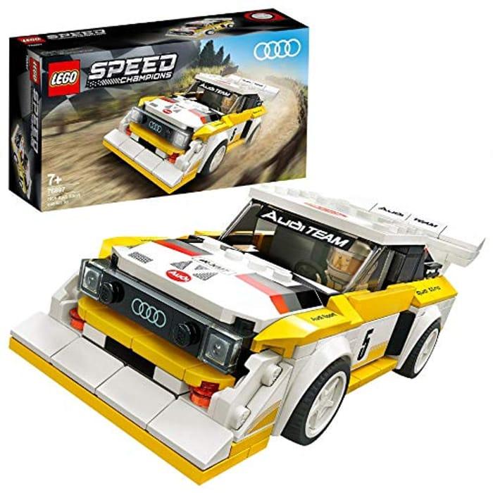 Speed Champions LEGO 76897 Audi Sport Quattro S1 Racer Toy,