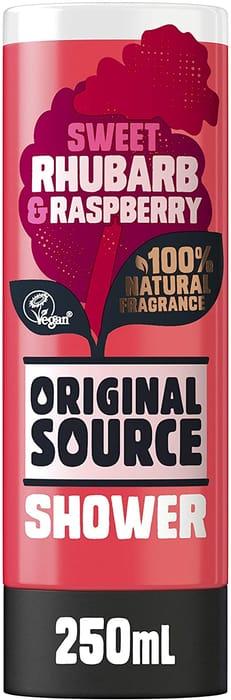 Original Source Rhubarb and Raspberry Shower Gel, 250ml
