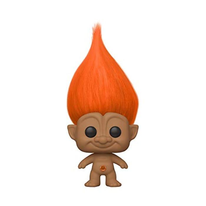 Funko 44606 POP Orange Troll Classic Collectible Toy, Multicolour
