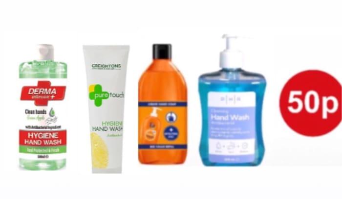 Fa Liquid Hand Soap Hygiene and Fresh Orange 385ml/ PHR Hand Wash 500ml,More