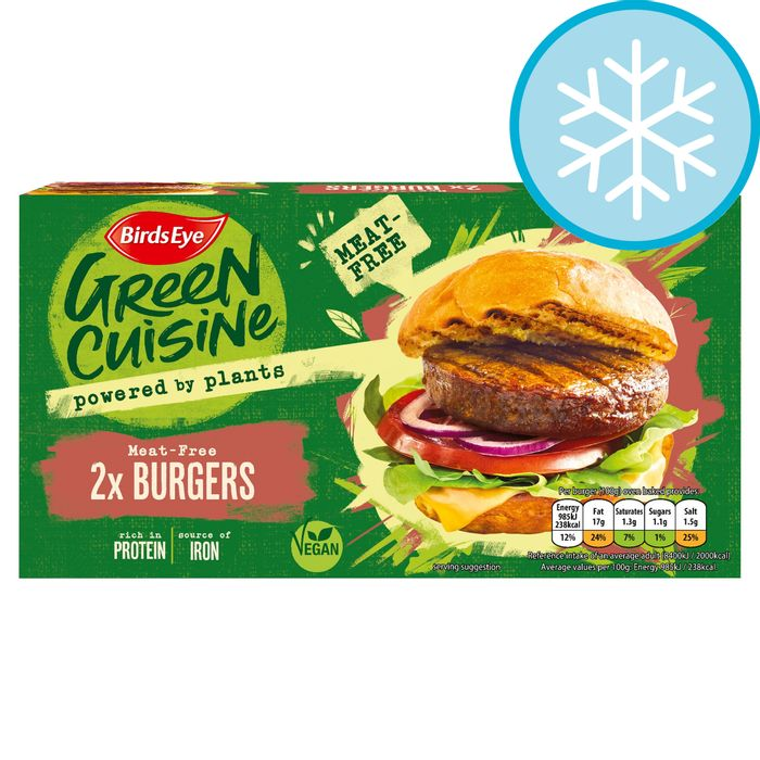 Free Birds Eye 2 Meat Free Burgers 200G £1.50 (Clubcard Price & Voucher Code)