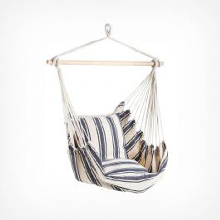 Striped Hanging Garden Chair - Only £21.24!