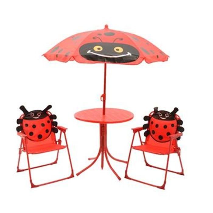 Childrens Ladybug Furniture Set