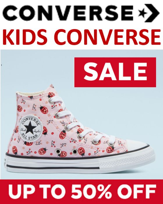 Kids Converse - up to 50% OFF