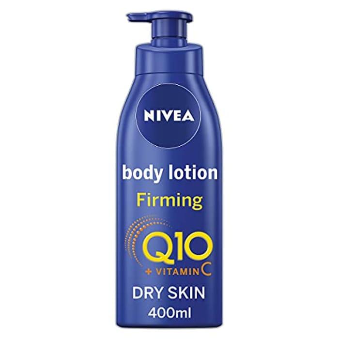 Cheap NIVEA Firming Body Lotion Q10 + Vitamin C (400ml) - Only £4.55!