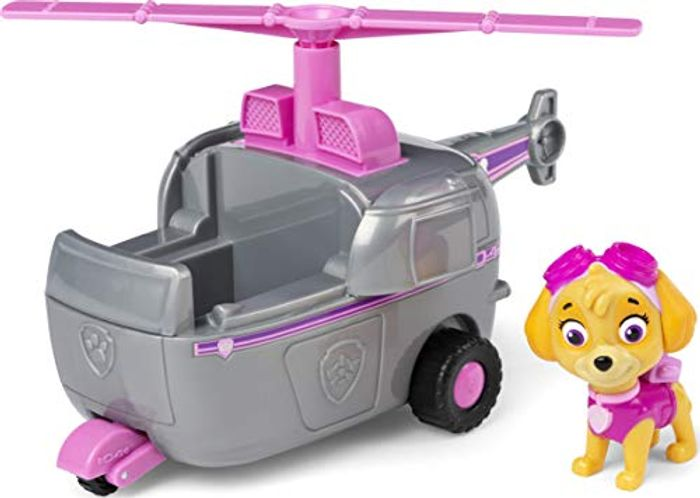 PAW Patrol Skyes Helicopter Vehicle with Collectible Figure - Only £4.98!