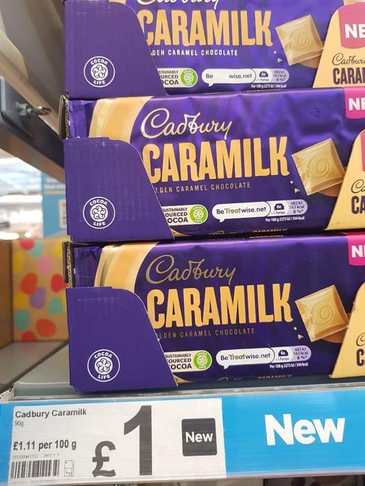 Cadbury Caramilk Golden Caramel Bar